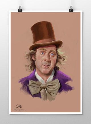 Portrait of Gene Wilder as Willy Wonka