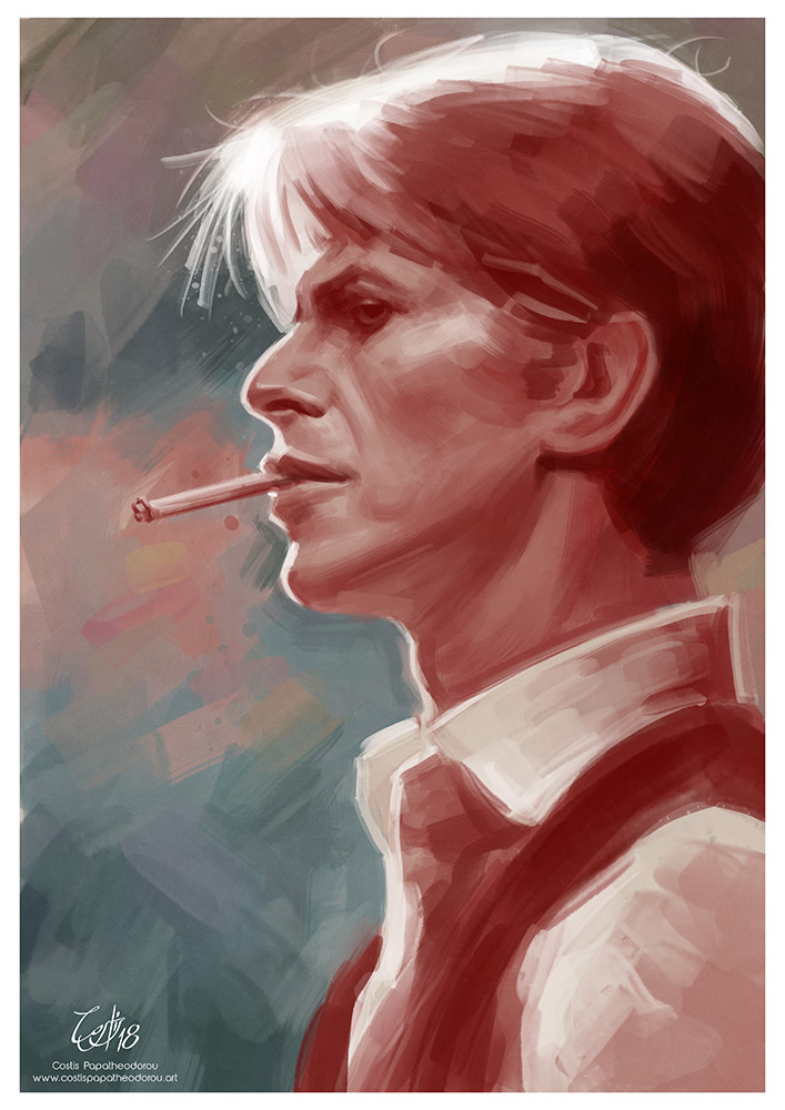 David Bowie portrait