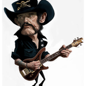 Lemmy caricature