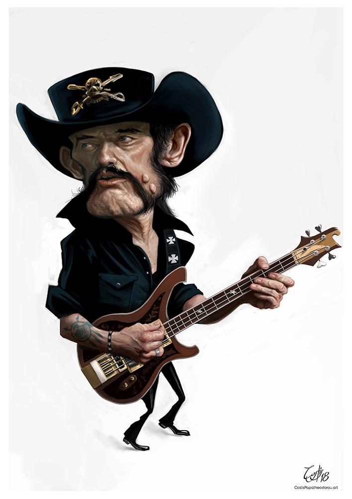 Lemmy caricature