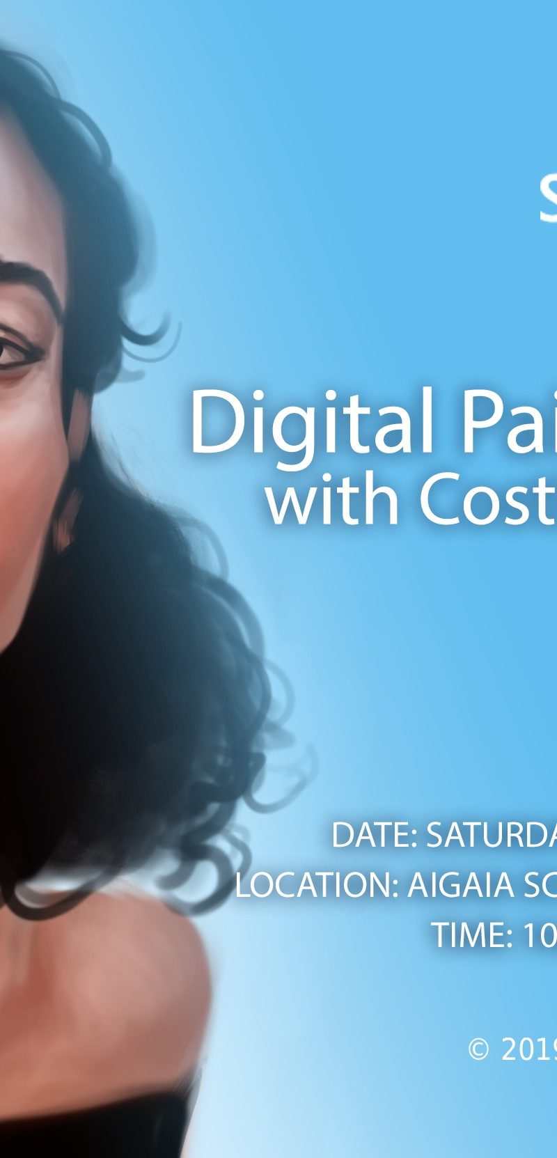 Digital Painting Workshop at Graphic Stories Cyprus