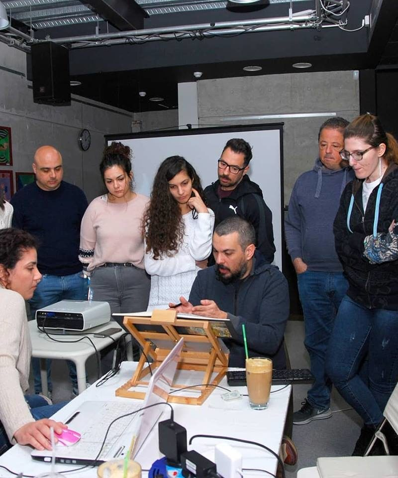 The Digital Painting Workshop rocked it at Graphic Stories Cyprus
